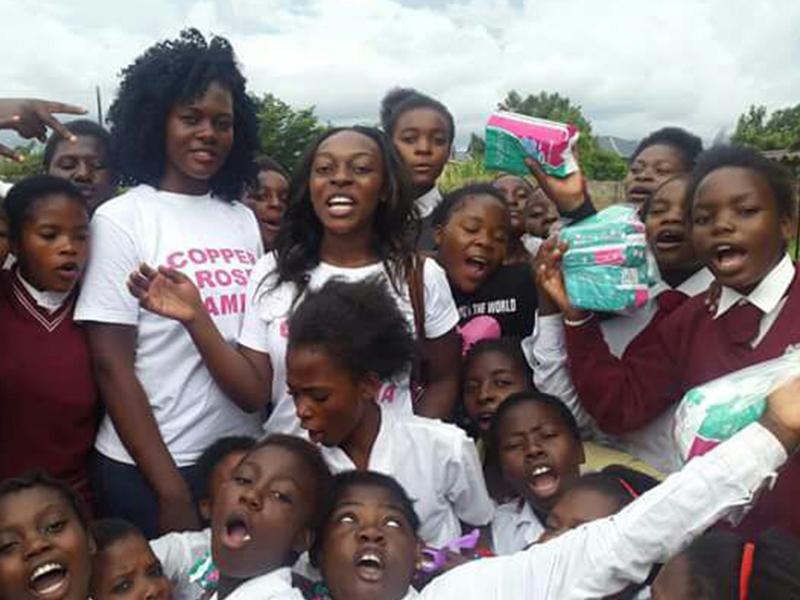 Natasha Focuses On Menstrual Hygiene